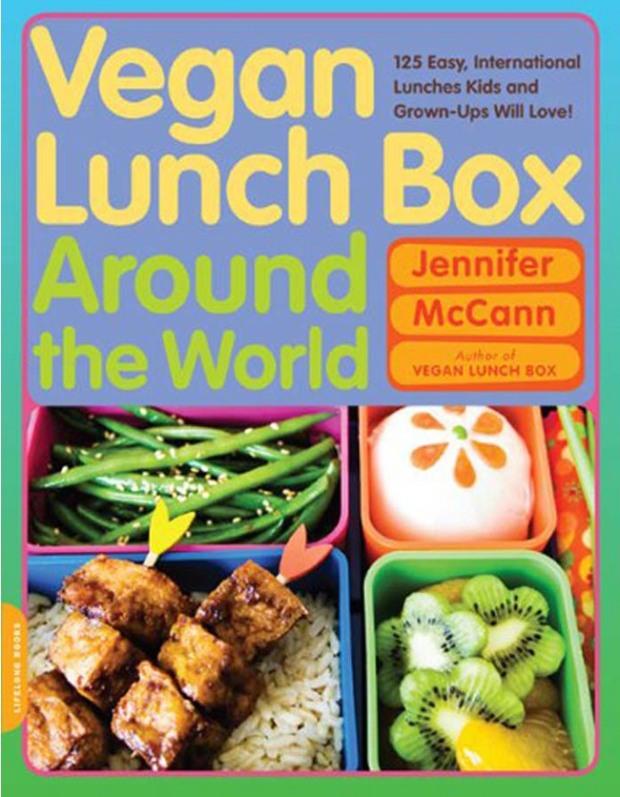 Vegan lunchbox around the world